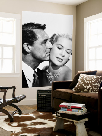 Cary Grant & Grace Kelly Mural