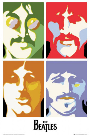 Die Beatles Poster