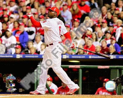 Ryan Howard Game 4 of the 2008 MLB World Series Photo