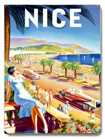 Nice Riviera Beach Resort Wood Sign