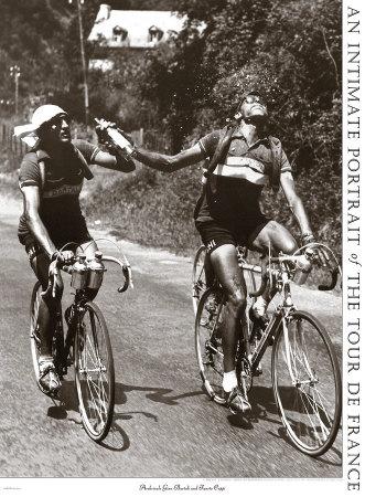 Archrivals Gino Bartali and Fausto Coppi Poster