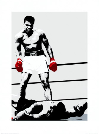 Muhammad Ali: Gloves Kunsttryk