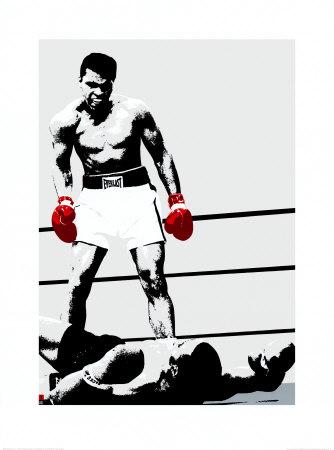 Muhammad Ali: Gloves Prints