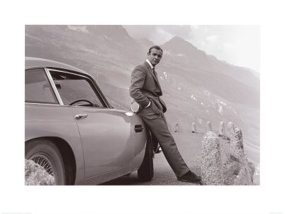 James Bond: Aston Martin Print