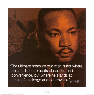 Martin Luther King, Jr.: Measure of a Man Reproduction d'art