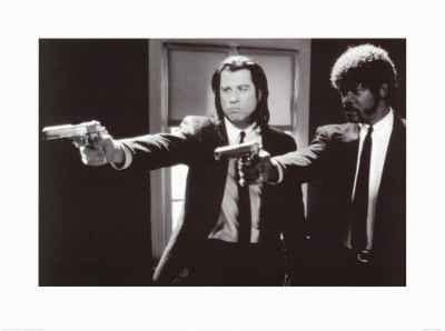 Pulp Fiction, film de Quentin Tarantino, 1994 Poster Print