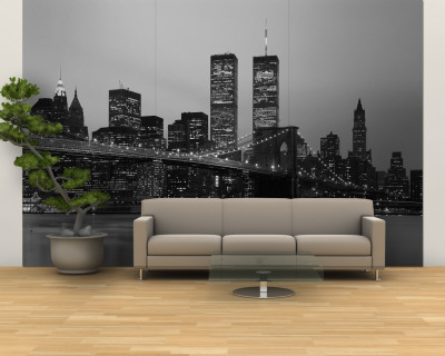 Brooklyn Bridge, Manhattan, New York City, New York State, USA Wall Mural – Large