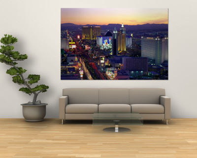 The Strip, Las Vegas, Nevada, USA Wall Mural