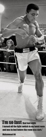 Muhammad Ali Affischer