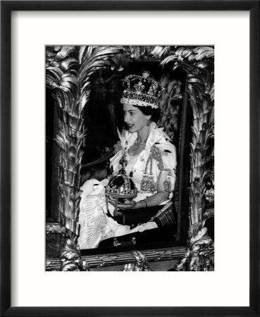 queen elizabeth ii crowned. queen elizabeth ii crowned.