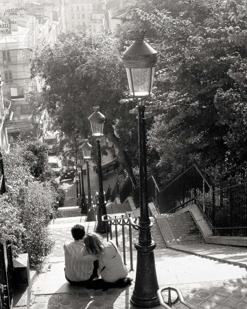 Montmartre (1953) Reproduction d'art