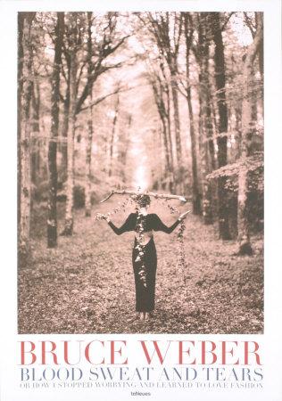 Lady Balancing Branch Prints by Bruce Weber