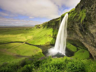 Seljalandfoss Waterfall, South Coast, Iceland Photographic Print by Michele Falzone