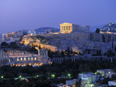 Parthenon, Acropolis, Athens, Greece Photographic Print by Walter Bibikow