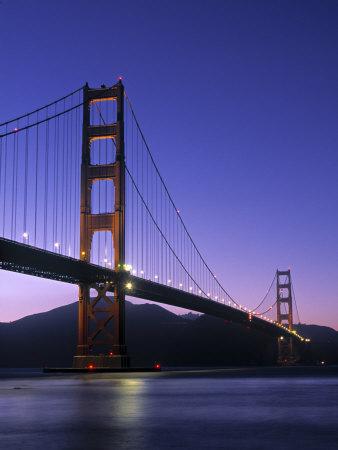 Golden Gate Bridge, San Francisco, USA Photographic Print by Neil Farrin