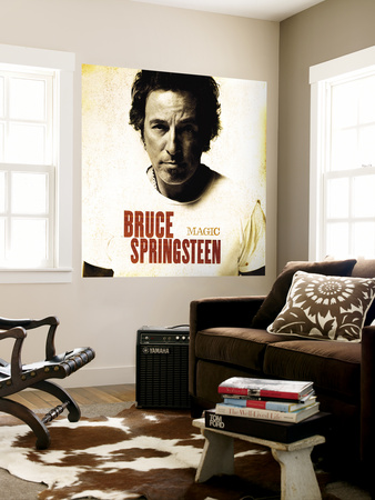 bruce springsteen magic album cover. 2011 Bruce Springsteen Magic