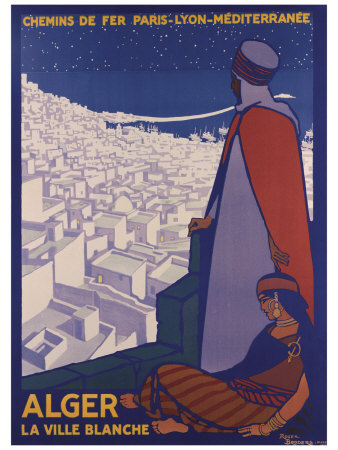 Alger Giclee Print by Roger Broders