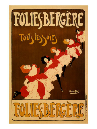 Folies-Bergere, c.1895 Giclee Print by Maurice Biais