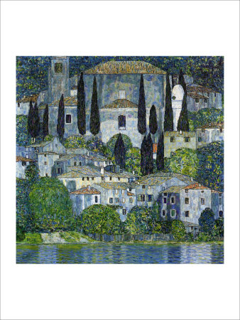 Church in Cassone Giclee Print