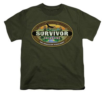 Youth: Survivor - Tocantins Logo T-Shirt