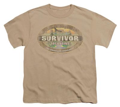 Youth: Survivor - Tocantins Distressed T-Shirt