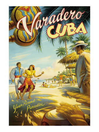 Varadero, Cuba Giclee Print