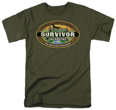 Survivor - Tocantins Logo T-Shirt