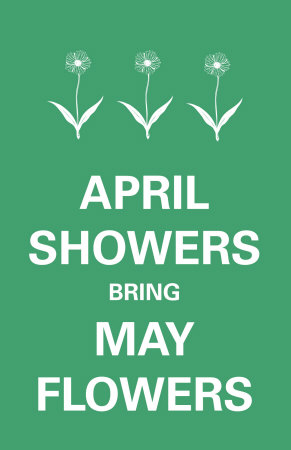 April Showers Premium Poster