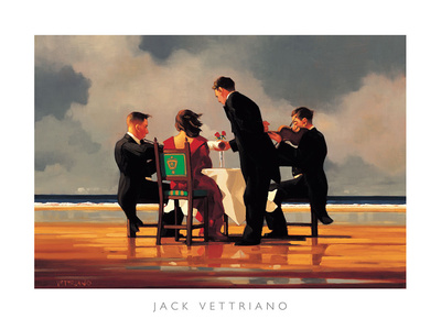 Elegy for a Dead Admiral Print by Jack Vettriano