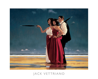 The Missing Man I Posters by Jack Vettriano