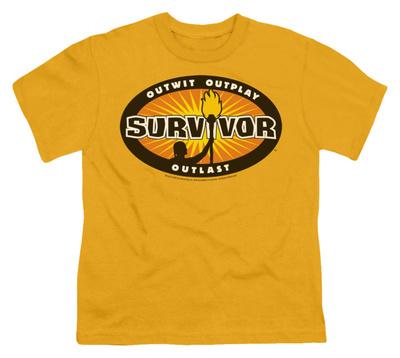 Youth: Survivor - Gold Burst Shirt