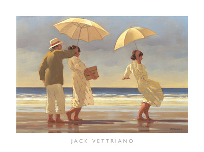 The Picnic Party II Print by Jack Vettriano
