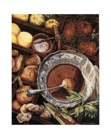 Soup Prints by Jeanette Trépanier
