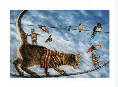 The Circus Performers Prints by Jeanette Trépanier