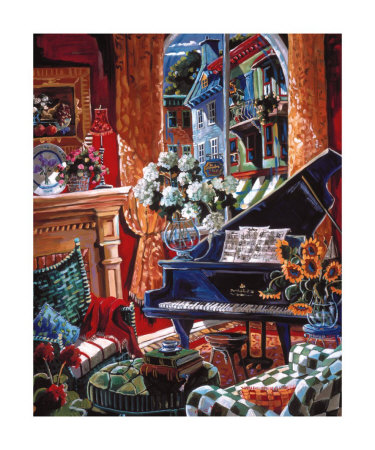 Sound of Music Prints by Josée Miller