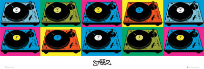 Steez - Decks Door Poster