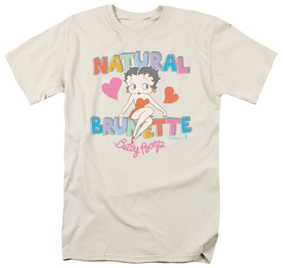 Betty Boop – Natural Brunette T-Shirt