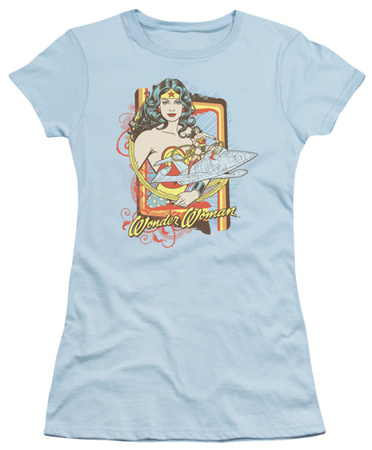 Juniors: DC Comics - Invisible Jet T-Shirt