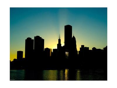 new york skyline silhouette. new york skyline silhouette.