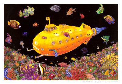 Yellow Submarine Plakater