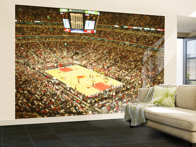 Chicago Bulls, United Center, Chicago, Illinois, USA Wall Mural – Large