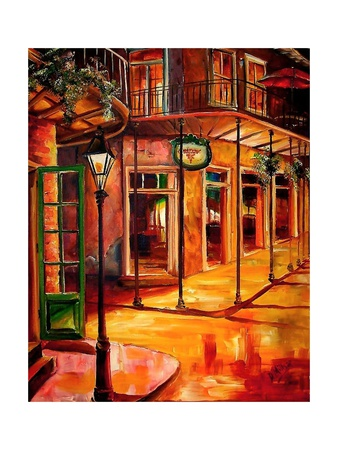 Golden French Quarter Posters by Diane Millsap