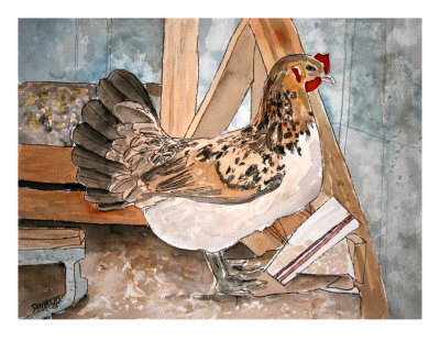 Farm Animal Pictures To Print. Farm Animal Giclee Print