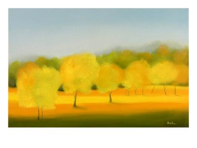 Sunlight Returns II Giclee Print by Bonita Williams Goldberg