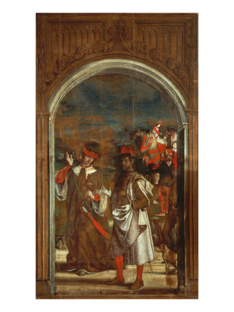 Two of the Three Kings Giclée-tryk af Pedro Berruguete