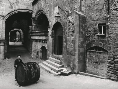 Medieval Section of Viterbo Photographic Print by Vincenzo Balocchi