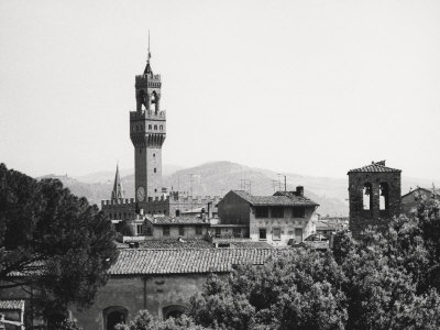 Florence from the Boboli Gardens Photographic Print by Vincenzo Balocchi