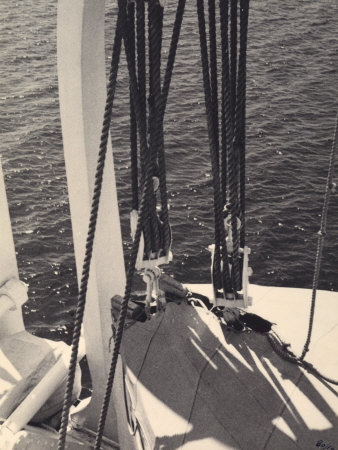 Ropes from a Boat Photographic Print by Vincenzo Balocchi