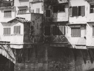 Typical Windows of the Ponte Vecchio Photographic Print by Vincenzo Balocchi