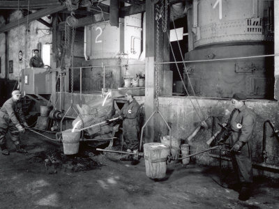Interior of a Factory of the Ideal Standard Plant Photographic Print